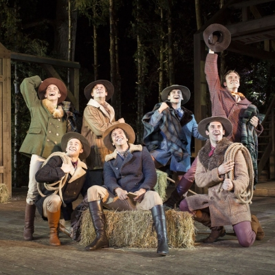 Adam Pontipee - SEVEN BRIDES FOR SEVEN BROTHERS (Open Air Theatre, Regent's Park)